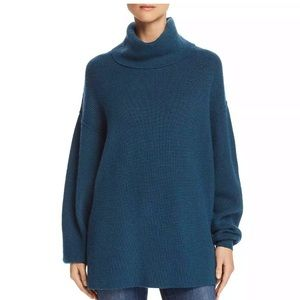 Free people raw hem turtleneck NWT